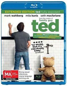 TED (Blu Ray) Brand New and Sealed Mark Wahlberg Seth Macfarlane Comedy 2012