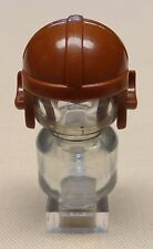 NEW Lego Army Minifig Headgear Cap Aviator For Army Guys REDDISH BROWN