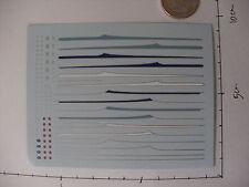 decals decalcomanie bande lateral simca aronde 6cv 7 cv 1/43