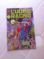 L'UOMO RAGNO nr 14 CORNO 1982 seconda serie 2^  MARVEL  VENDICATORI  X-MEN