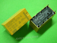 10x DC 12V DPDT PCB Power Relay HRS2H-S-DC12V 8 PIN 2NO 2NC