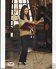 """Selena Gomez Signed """"Waverly Place"""" 8x10 Photo PSA/DNA"""
