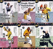 ShaoLin Kongfu Chinese The Chinese Peculiar Weapon Series by Shi Debiao 7DVDs