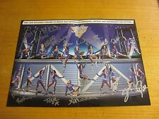 New York Knicks City Dancers Autographed 10X14 Photo/Poster NBA Basketball