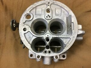 1956 Lincoln Holley 4V carburetor base, 1957 Ford & Thunderbird supercharged