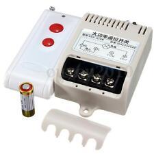 AC 110V 220V Far Distance High Power 30A Relay Wireless Remote Control Switch