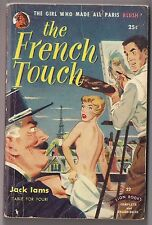 1950 THE FRENCH TOUCH by Jack Iams GGA Cover PB
