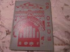 1962 Dubuque Iowa Senior High School Echo Yearbook Annual - Excellent! Unmarked!