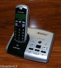 Motorola (Md7261) 5.8Ghz Black & Silver 3-Mail Box Phone System w/ Power Supply