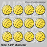 "(12) WATER POLO 1.25"" pinback buttons / badges - h2o h20 team gift pins"