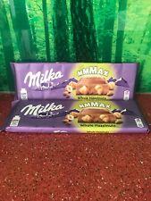 2 x Milka Ensemble noisettes Barre de Chocolat Barres -270 G-Milka Alpine lait C...