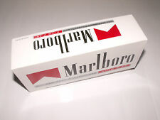 200 Marlboro Red King Size MAKE YOUR OWN Empty Cigarette Filter Tubes