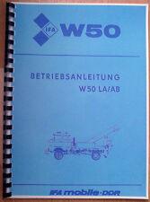 IFA W50 LA/AB Betriebsanleitung Bergefahrzeug Abschleppfahrzeug