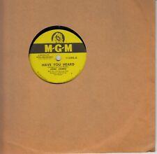 "Joni James ""Have You Heard"" / ""Wishing Ring"" 10"" 78 RPM record (M-G-M 11390)"