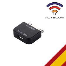 ADAPTADOR CONVERSOR MICROUSB CONEXION PARA SAMSUNG GALAXY TAB 7.7 P6800/P6810