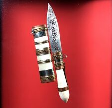 Meed Mor Magic Knife LP Koon Holy Dagger Sword Thai Amulet Talisman White Bone