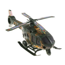Camo Military Helicopter Model Aircraft Model Airlines Kit Kid Toy Adult Gift TK