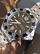 Reloj de buceo de calidad por la marca alemana eichmuller con pulsera de acero sólido de S -