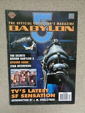 Babylon 5 Official Collectors Magazine Vol 1 Issue 1 May 1996