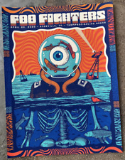Foo Fighters 4/20 2020 Knoxville Concert Poster Print 18x24 Artist Signed x/40