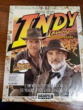 "Indiana Jones And The Last Crusade Ibm Tandy 3.5"" Pc Game 1989"