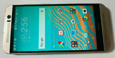 UNLOCKED HTC One M9 32GB Gold Smart Cell Phone / AT&T Metro h2O T-Mobile Cricket