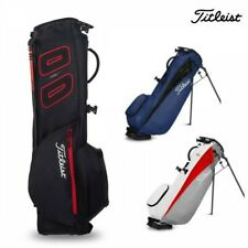 TITLEIST Golf Men's Stand Caddy Bag Players 4 Carbon Type 8 x 47 Inch 1.7kg NEW