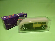 RIO  1:43  - BUGATTI ROYALE 1927 41 CC 12763   NO= 54 -  MINT CONDITION  IN BOX