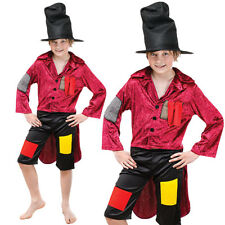 BOYS ARTFUL DODGER COSTUME LARGE VICTORIAN OLIVER TWIST FANCY DRESS BOOK DAY