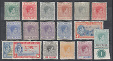 Bahamas Sc 100-113 MLH/MNH. 1938-1946 KGV definitives cplt, mostly NH, F-VF