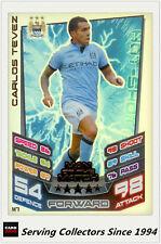 2012-13 Match Attax Extra Man Of Match Foil Card M7 Carlos Tevez (Man City)