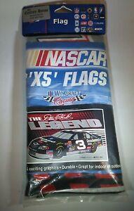 "Dale Earnhardt Flag NASCAR Wincraft 3'x5' feet Sealed ""The Legend"""
