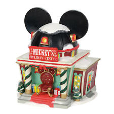 DEPT 56 Disney Village Holiday House - MICKEY HOLIDAY CENTER Light Up
