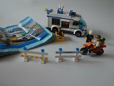 Lego City 7286 Prisoner Transport - complete- instructions, no box