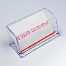 Desktop Visitenkartenhalter Ausstellungsstand Acryl Schreibtisch NEUE