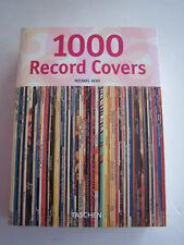 1000 PHOTOS POCHETTES DE VINYLES , RECORD COVERS , TASCHEN 2005 . TRES BON ETAT