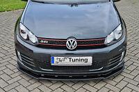 Sonderaktion Spoilerschwert Frontspoiler aus ABS für VW Golf 6 GTI GTD ED35 ABE