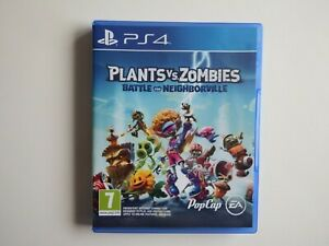 Plants vs Zombies: Battle for Neighborville for PS4 in MINT Condition