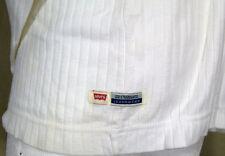 Levi Strauss & Co white soft cotton  SHIRT Sz XL