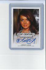 LINDSAY LOHAN Autograph MINT Pop Century Auto MEAN GIRLS Scary Movie PARENT TRAP