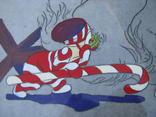 1980s ANIMATION PRODUCTION CEL CHRISTMAS CARTOON Filmation/She-Ra SHERRY WHEELER