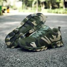 Mens Athletic Army Camo Running Sport Shoes Sneakers Casual Lace up Mesh Fashion