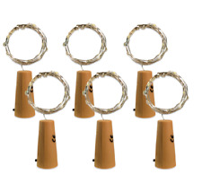 6x Led korken Lichterkette Flaschenkorken Wein Flaschen Lampe Versand aus DE
