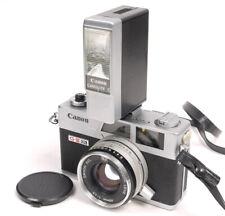 Canon Canonet QL17 GIII w/Canolite D ~ Looks/Works Great