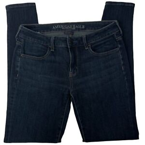 American Eagle Outfitters Womens Skinny Blue Denim Jegging Jeans Size US 6