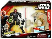 Star Wars Deluxe pack Hero Mashers Darth Maul & Sith Speeder Action Figure