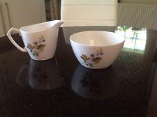 Vintage Alfred Meakin -England. Milk Jug And Sugar Bowl