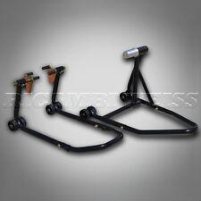 ESTW40 Paddock Stand Single Sided SET Rear + Front Motorcycle Black Ducati 1098