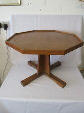 Vintage Octagonal Wooden Coffee Table. 62.5cm Dia