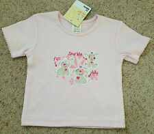 BABY GIRLS PRETTY SHORT SLEEVED TOP FROM TINY TED  AGE 3-6 M  BNWT